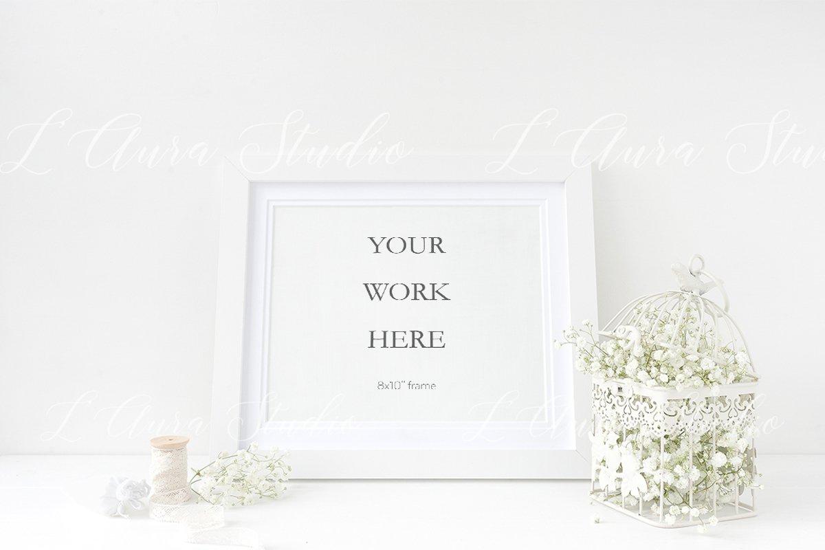 Landscape frame mockup - wedding example image 1