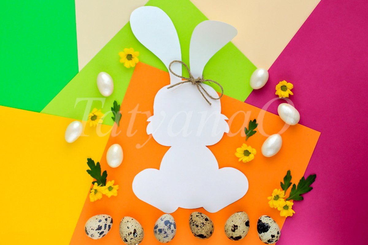Creative trend concept of Easter. example image 1