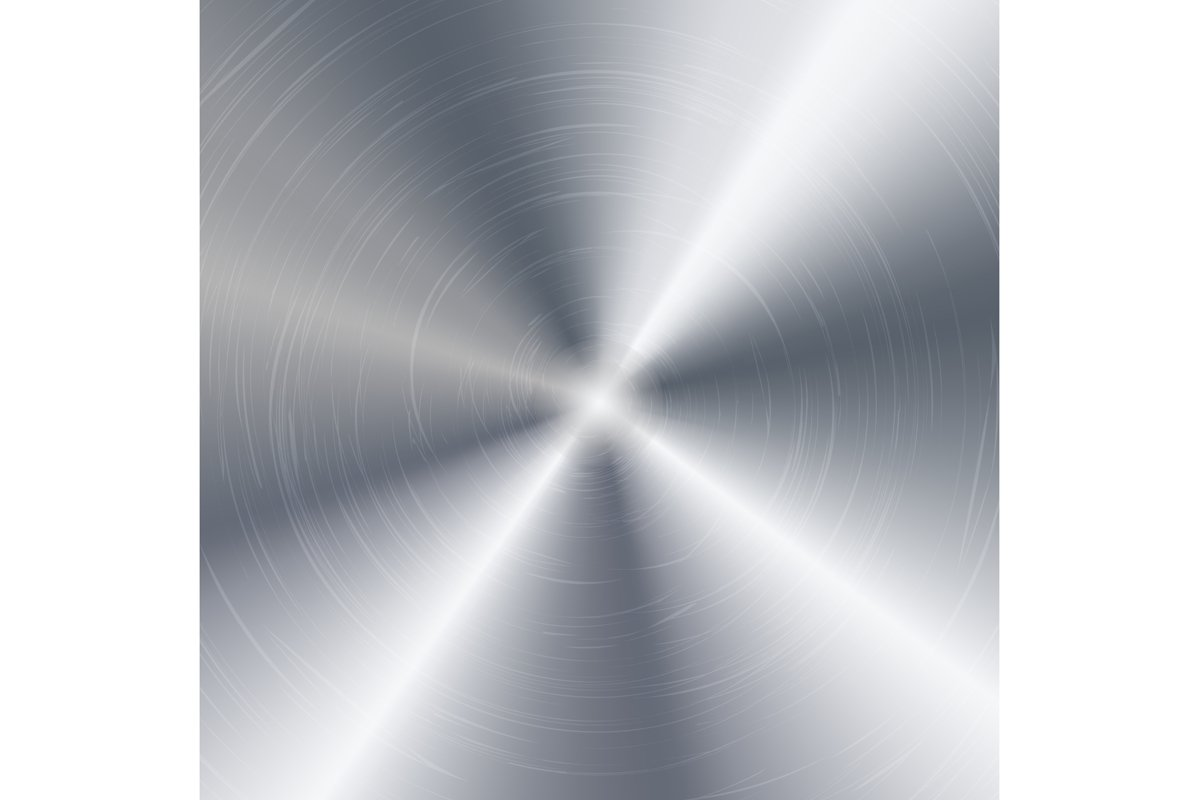 Metal Abstract Technology Background. Polished example image 1