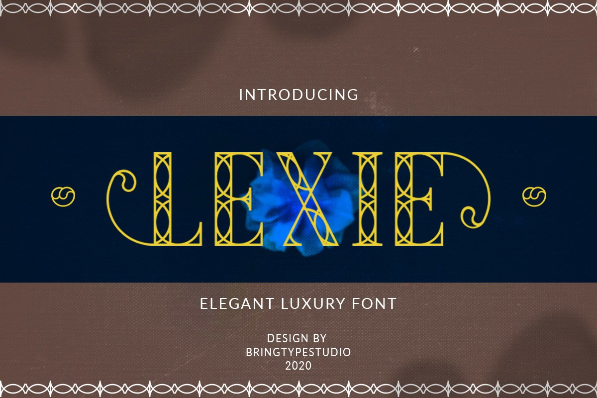 Lexie - Luxury Fonts example image 1