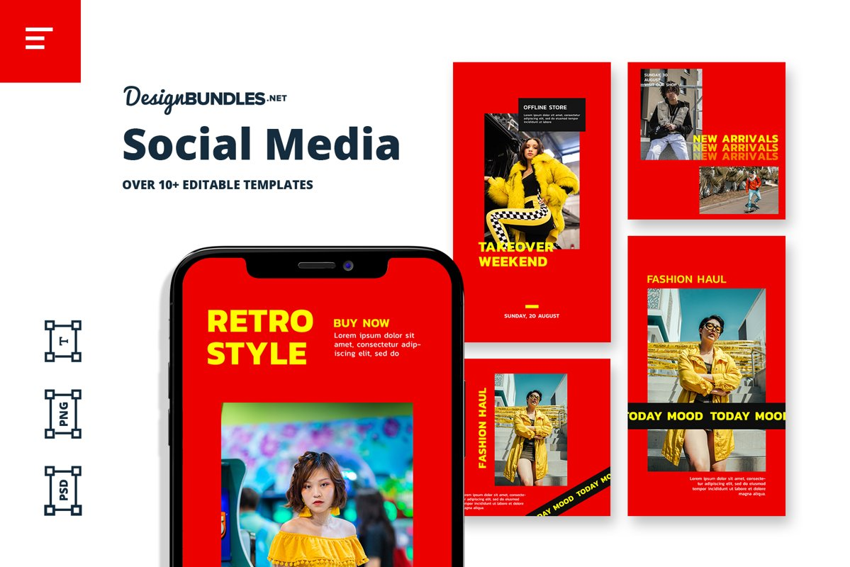 Moodboard Instagram Template example image 1