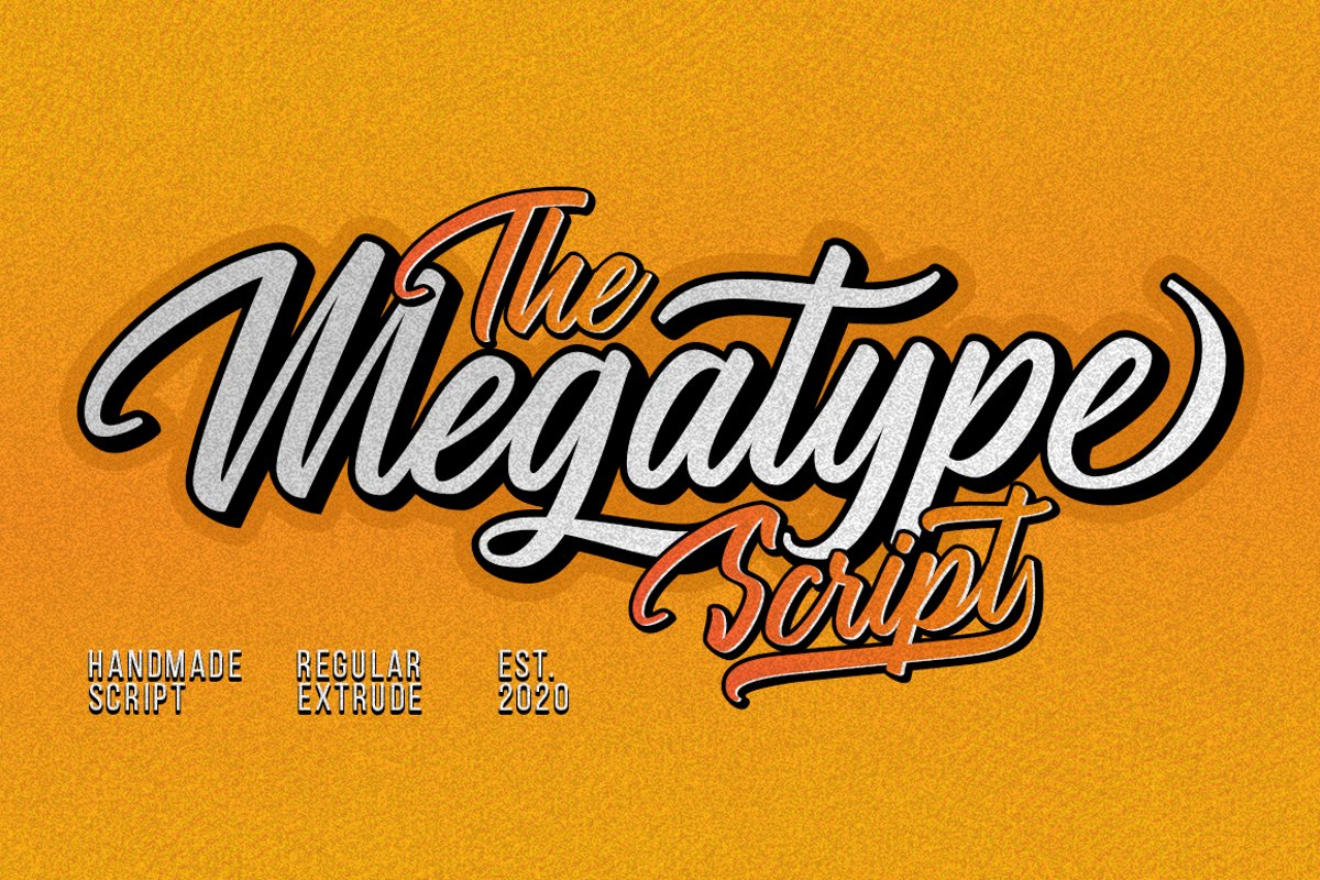 Megatype Script example image 1