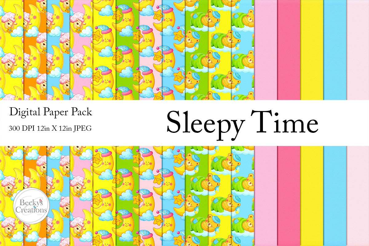 Sleepy Time Paper Pack example image 1