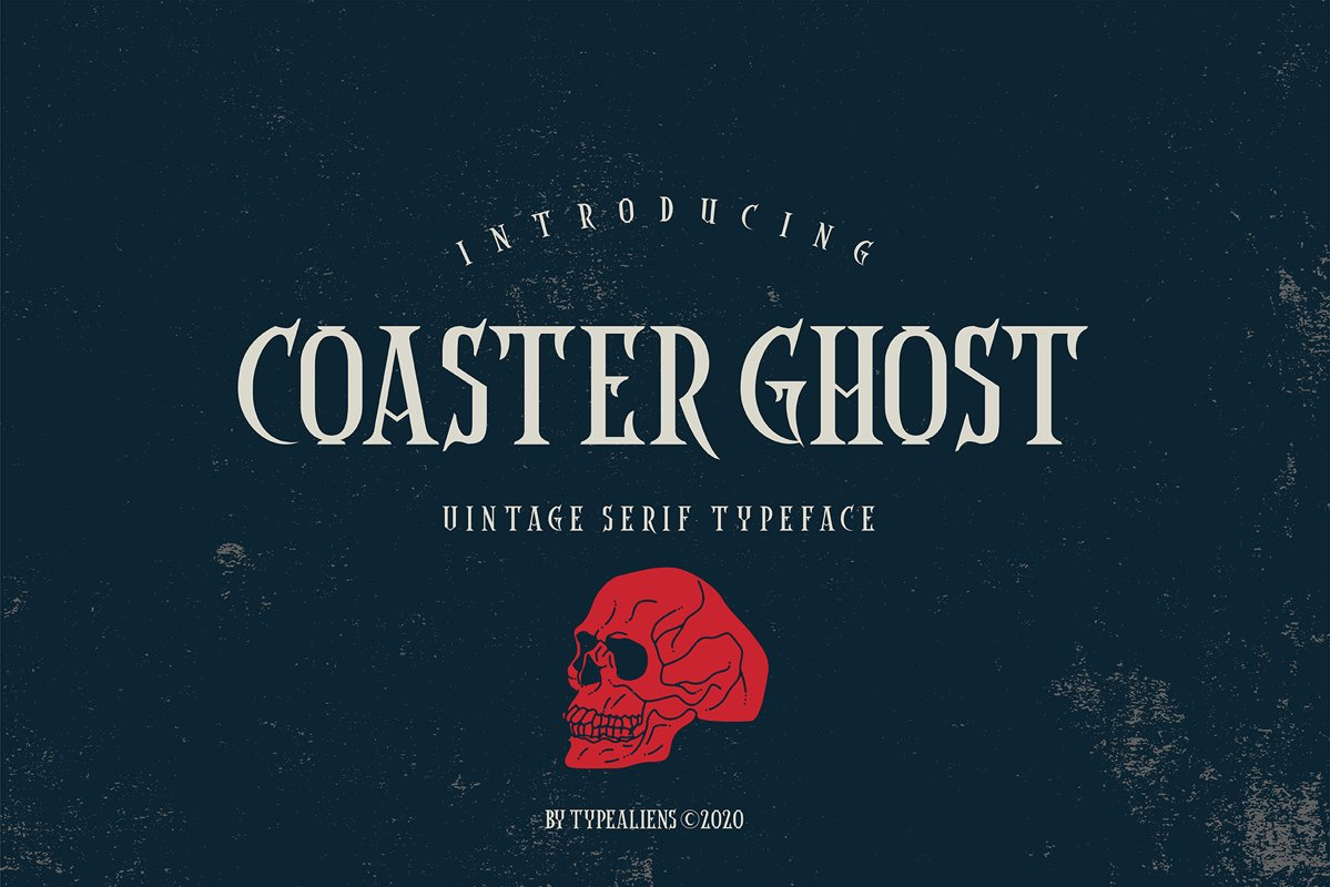Coaster Ghost example image 1