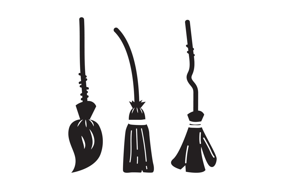 Broomstick Silhouettes example image 1