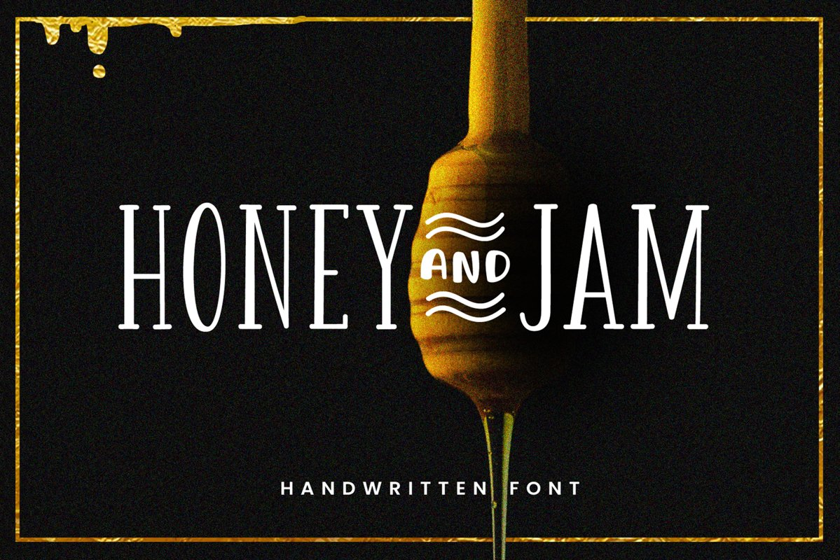Honey and Jam example image 1