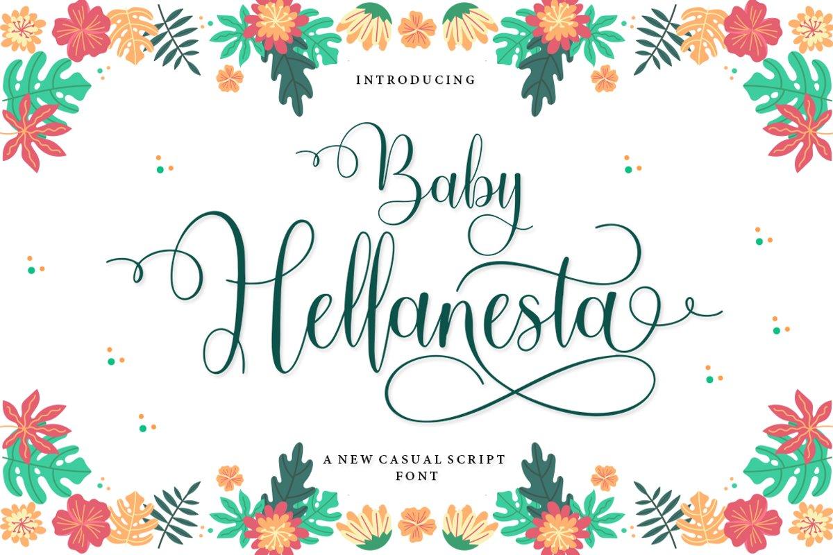 Baby Hellanesta example image 1