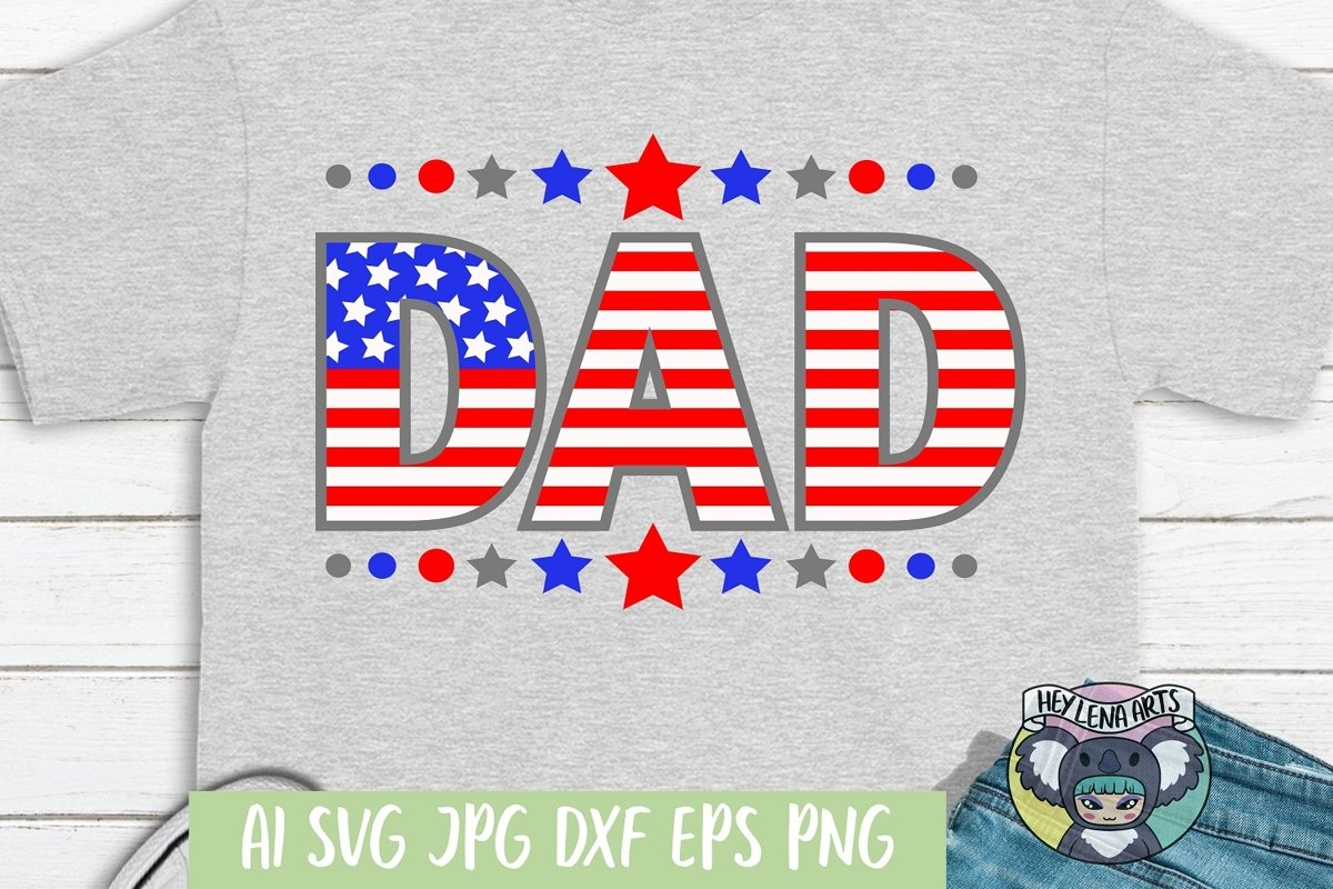 Dad svg, Father's Day svg, Daddy svg, dxf, Cricut Cut example image 1