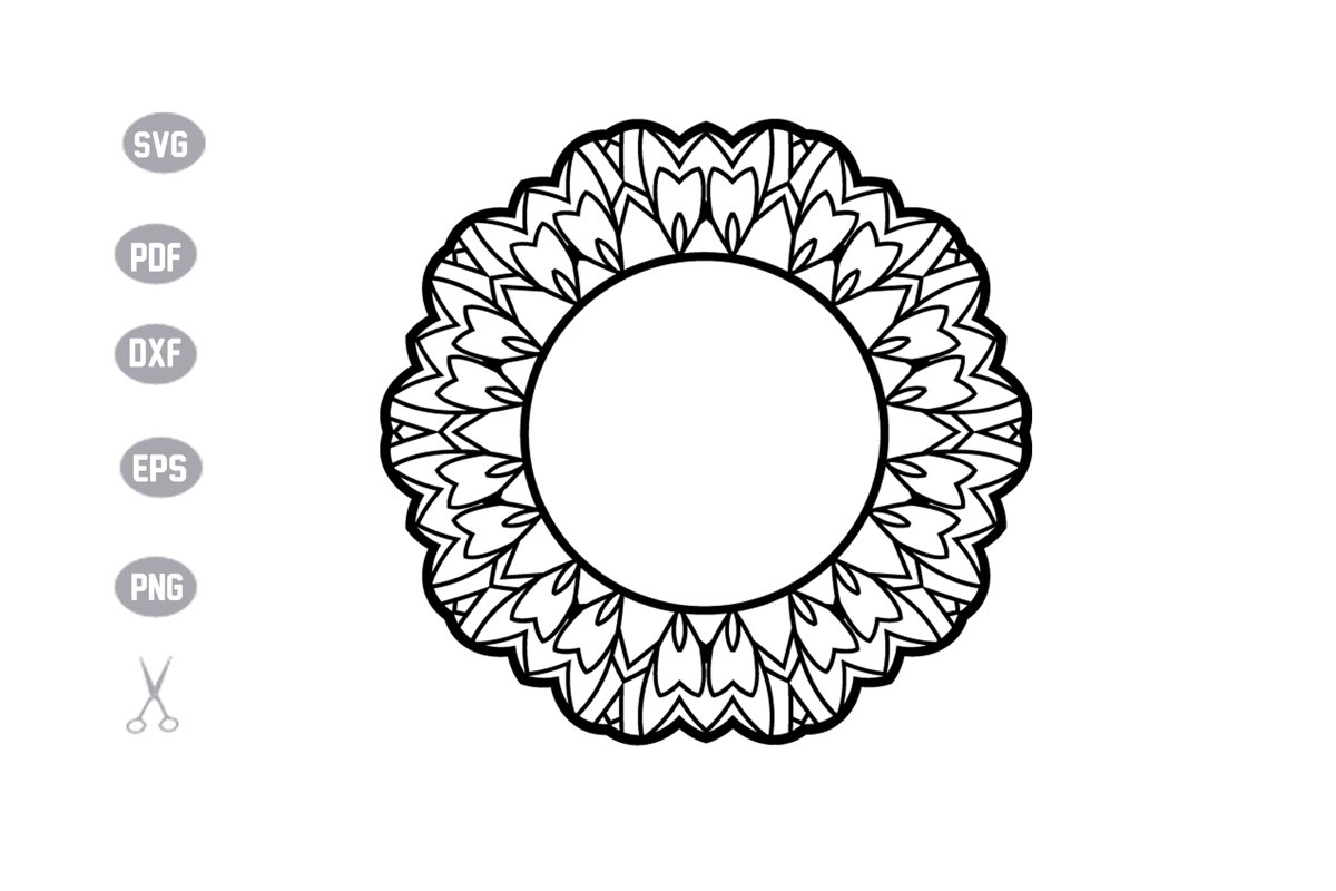 45+ Initial Mandala Svg – SVG Bundles