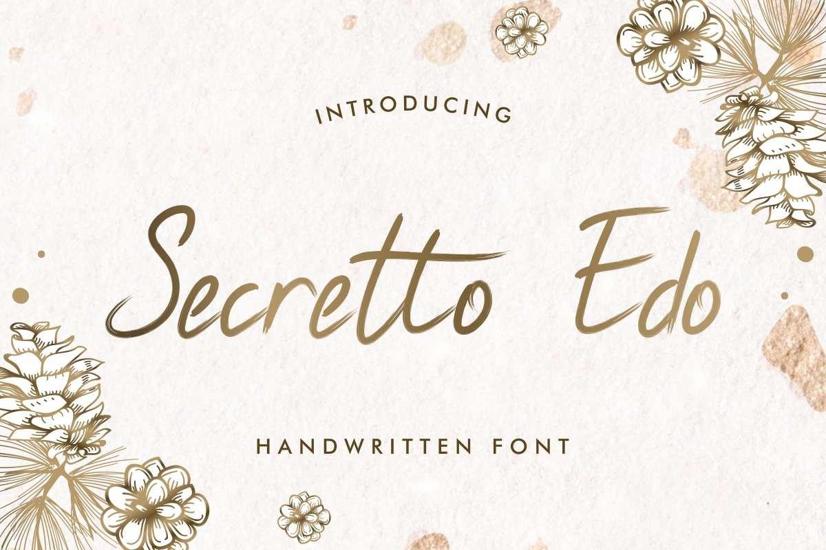 Secretto Edo example image 1