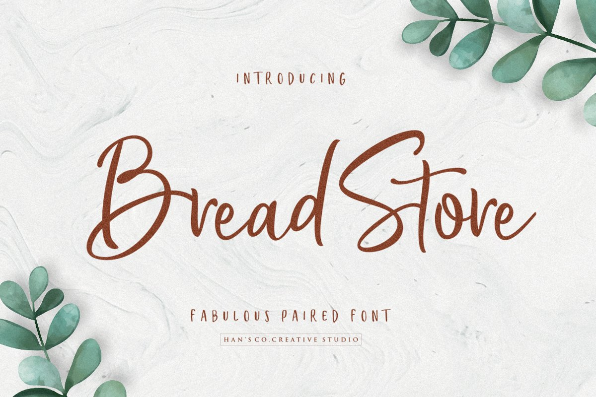 Bread Store Font example image 1