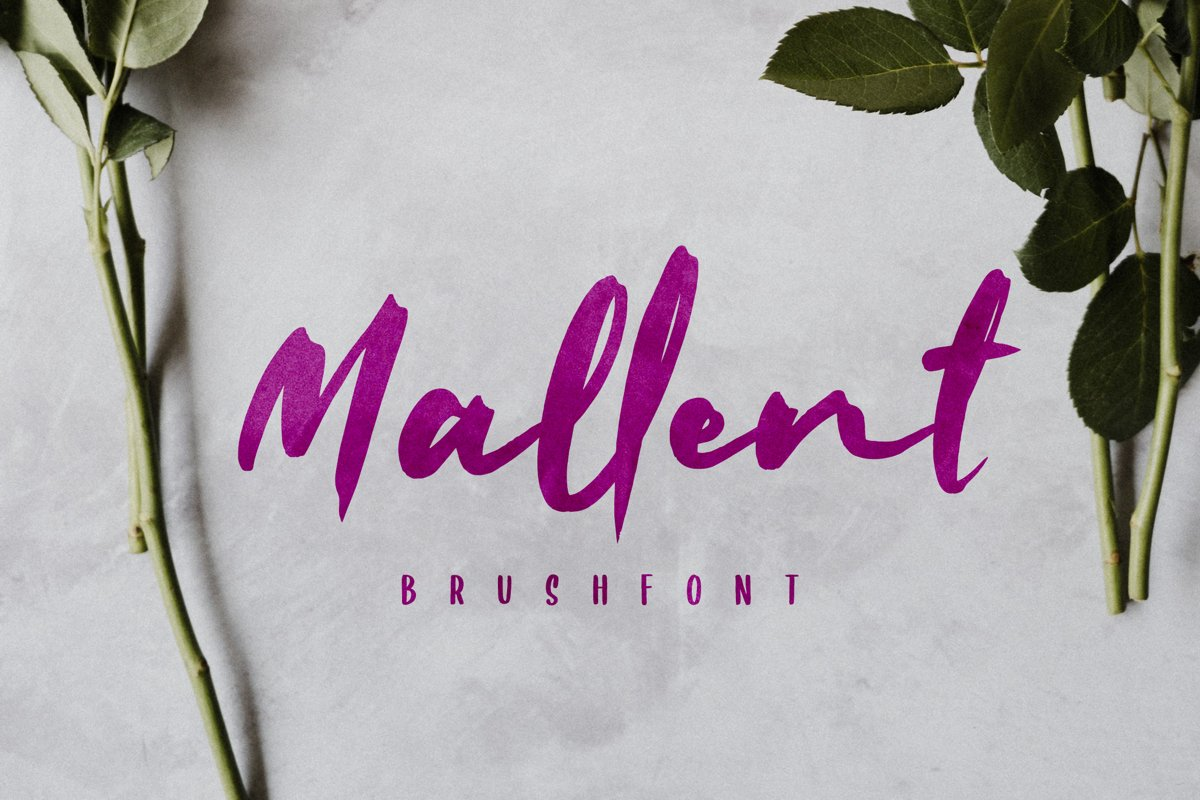 Mallent Font example image 1