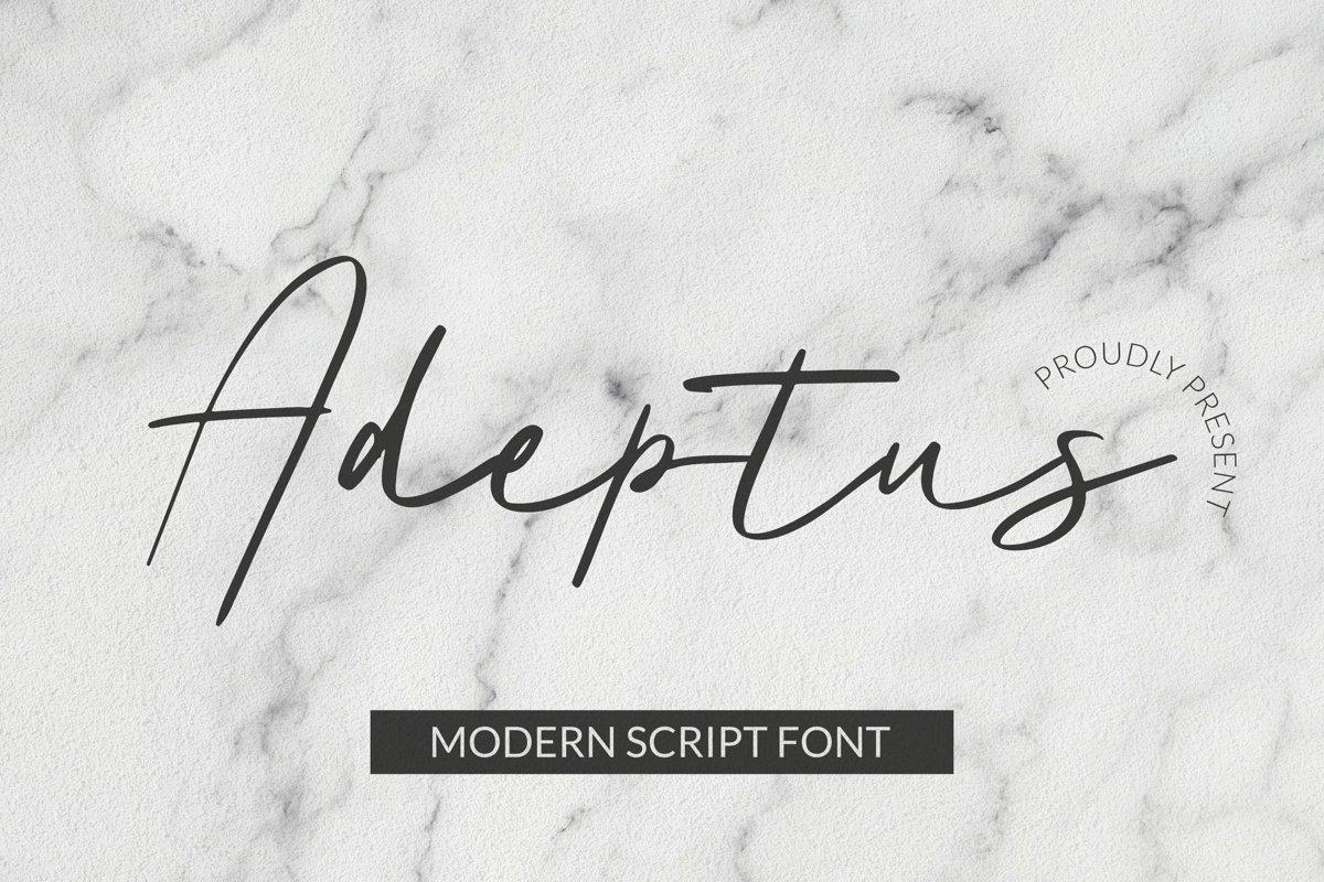 Adeptus Font example image 1