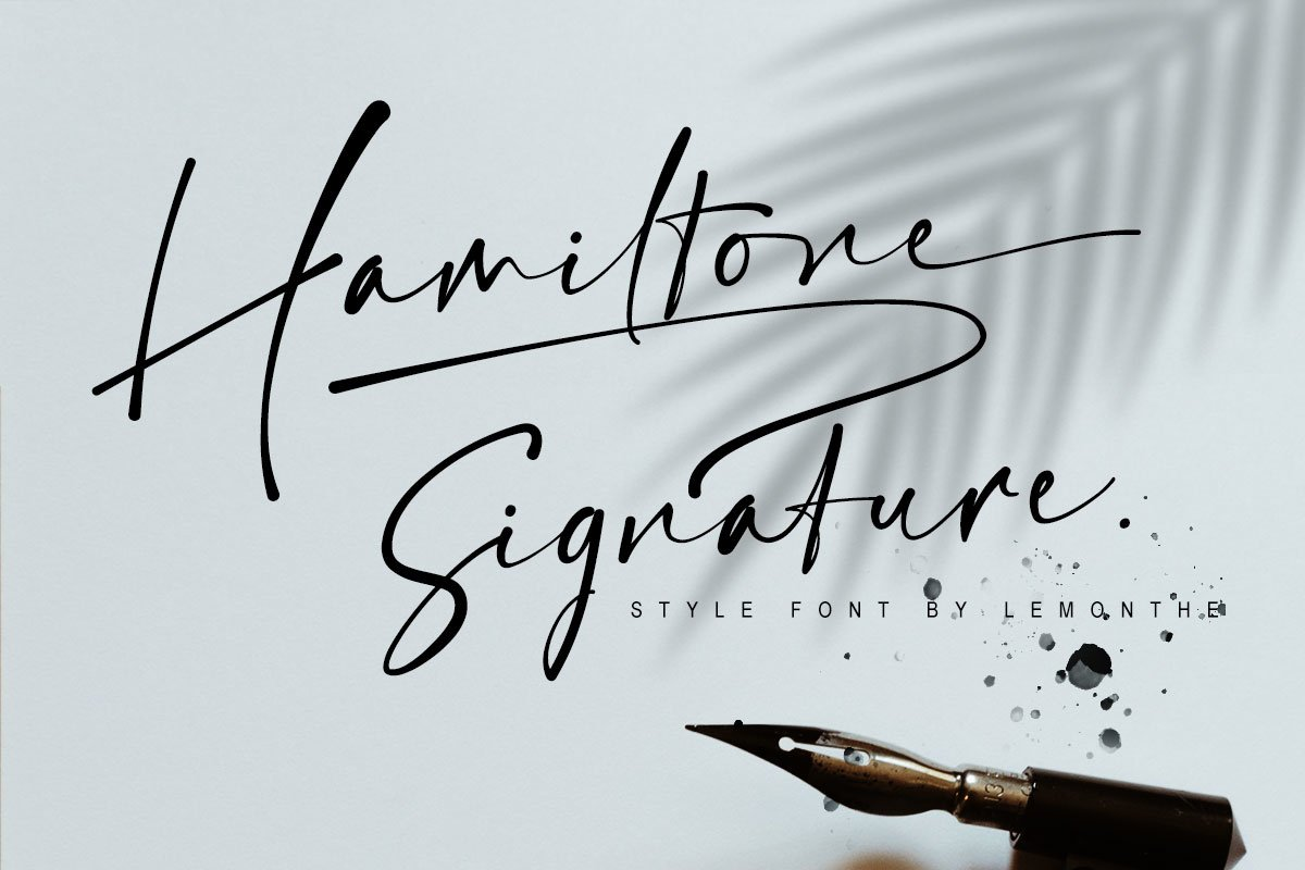 Hamiltone Signature example image 1