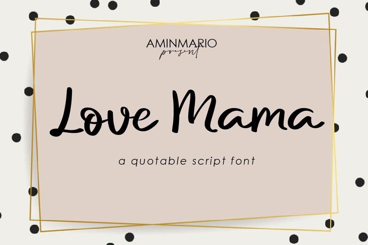 Love Mama example image 1