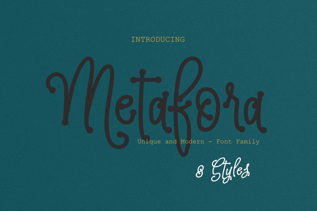 Metafora Family example image 1