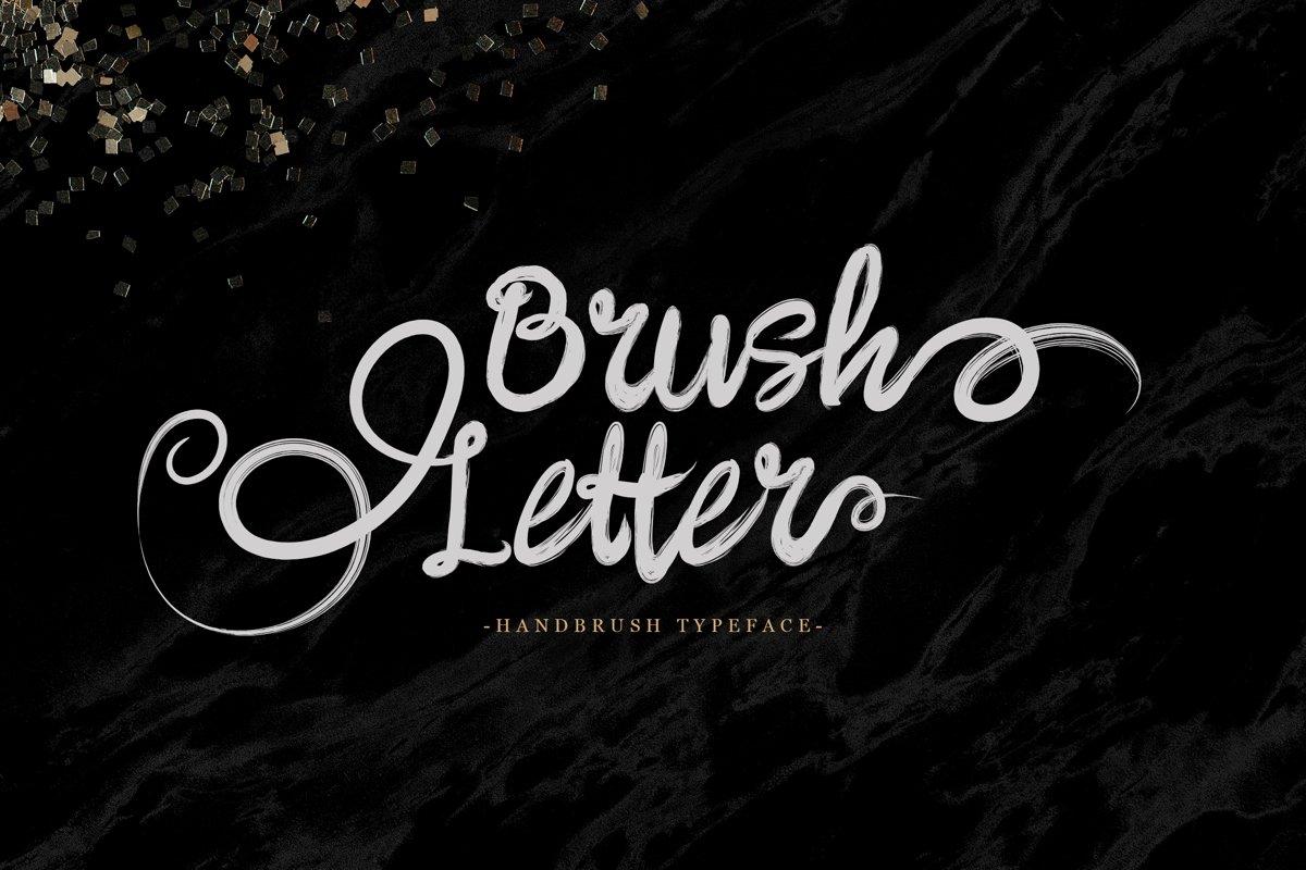 Brushletter example image 1