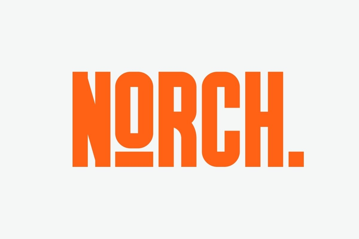 GR Norch - Sports Display Font example image 1