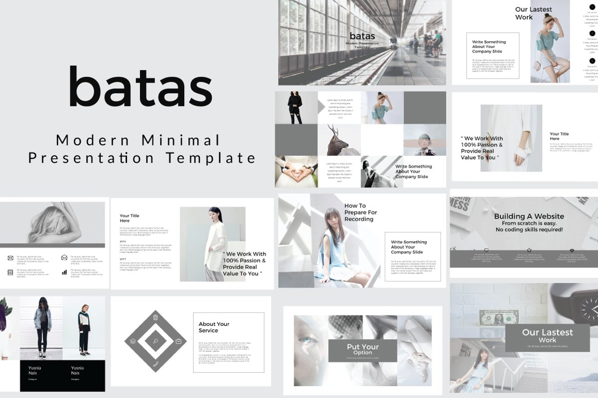 Batas Google Slide Template example image 1
