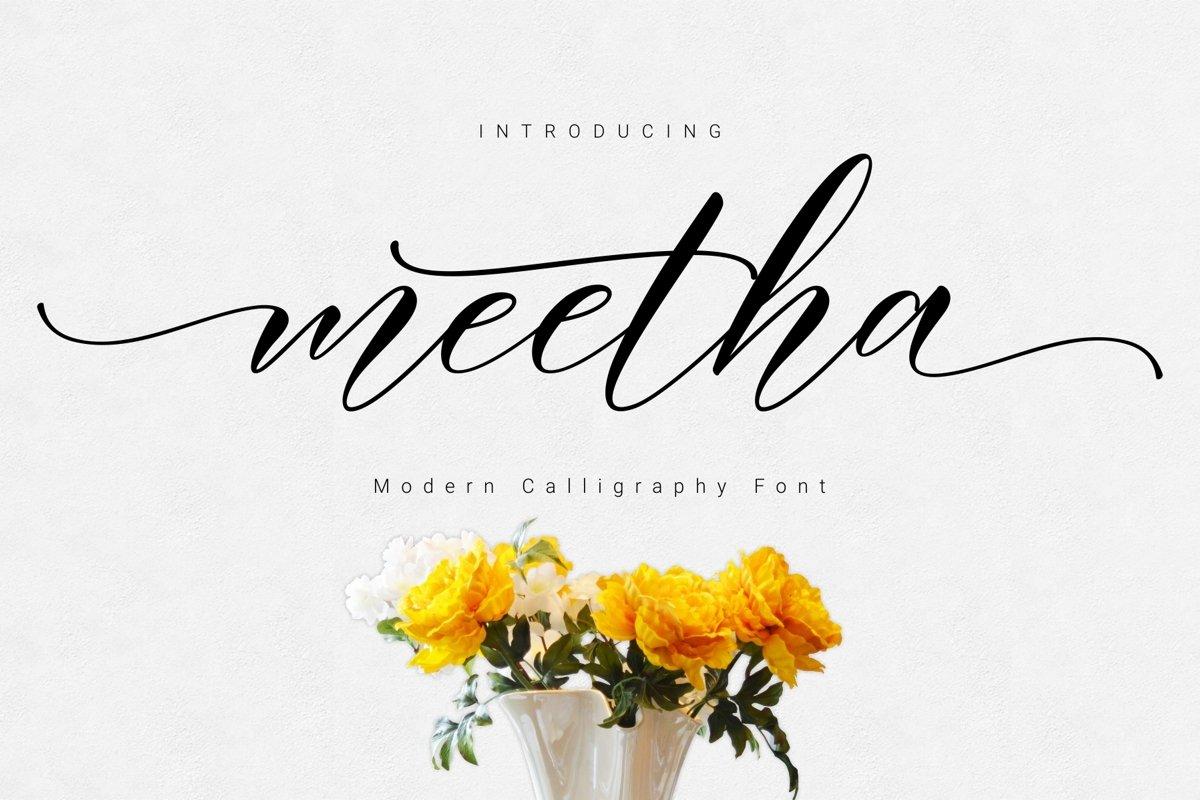 Meetha Script example image 1