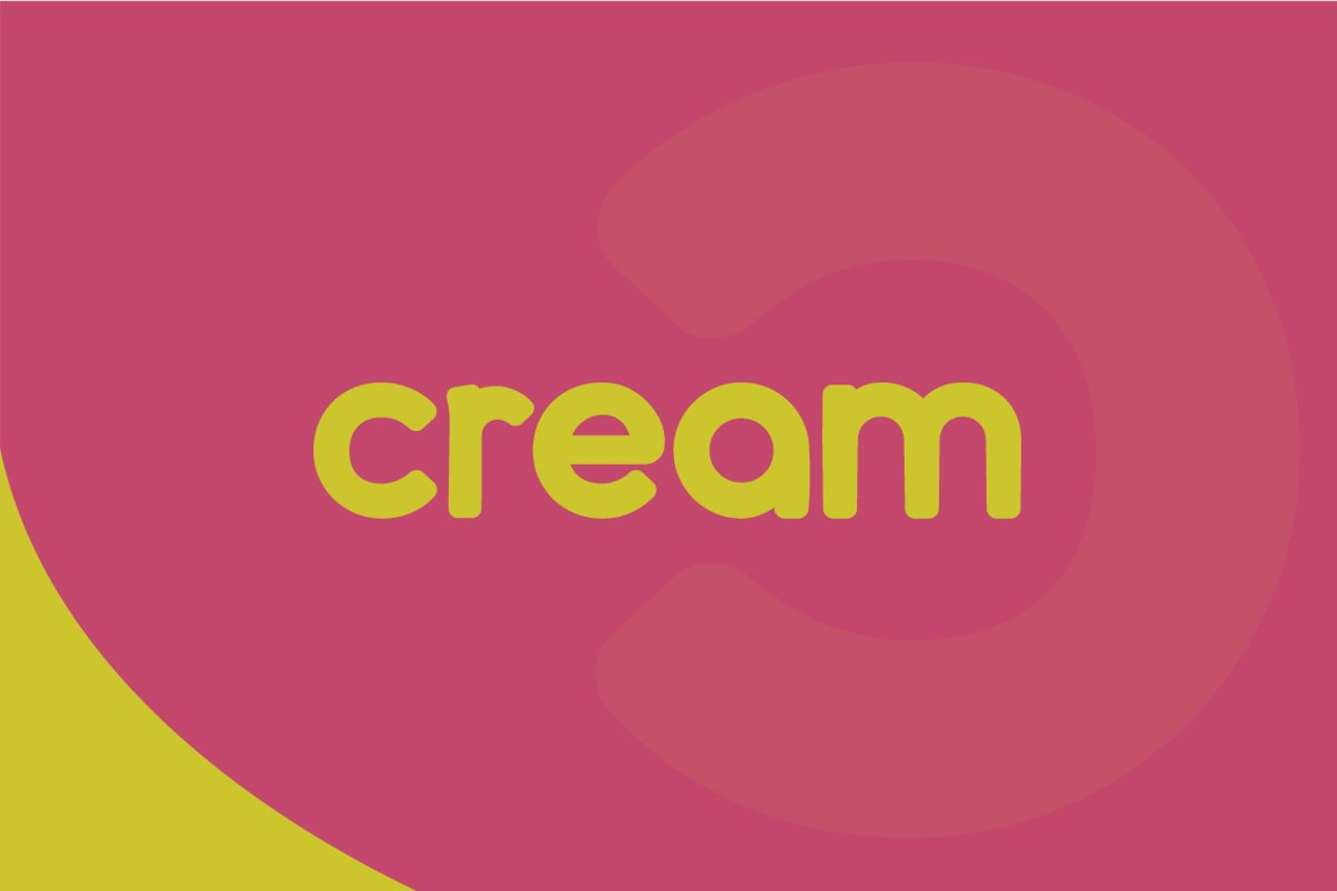 cream - complete font family example image 1