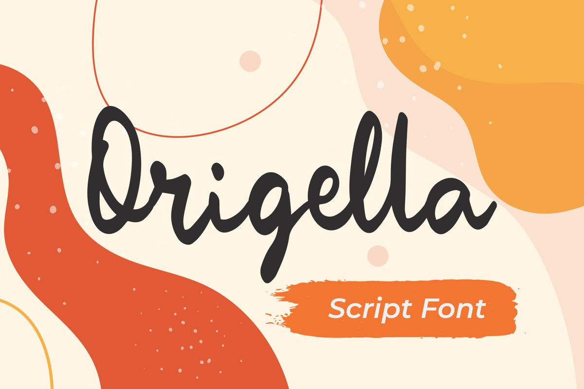 Origella - Script Handwritten Fonts example image 1
