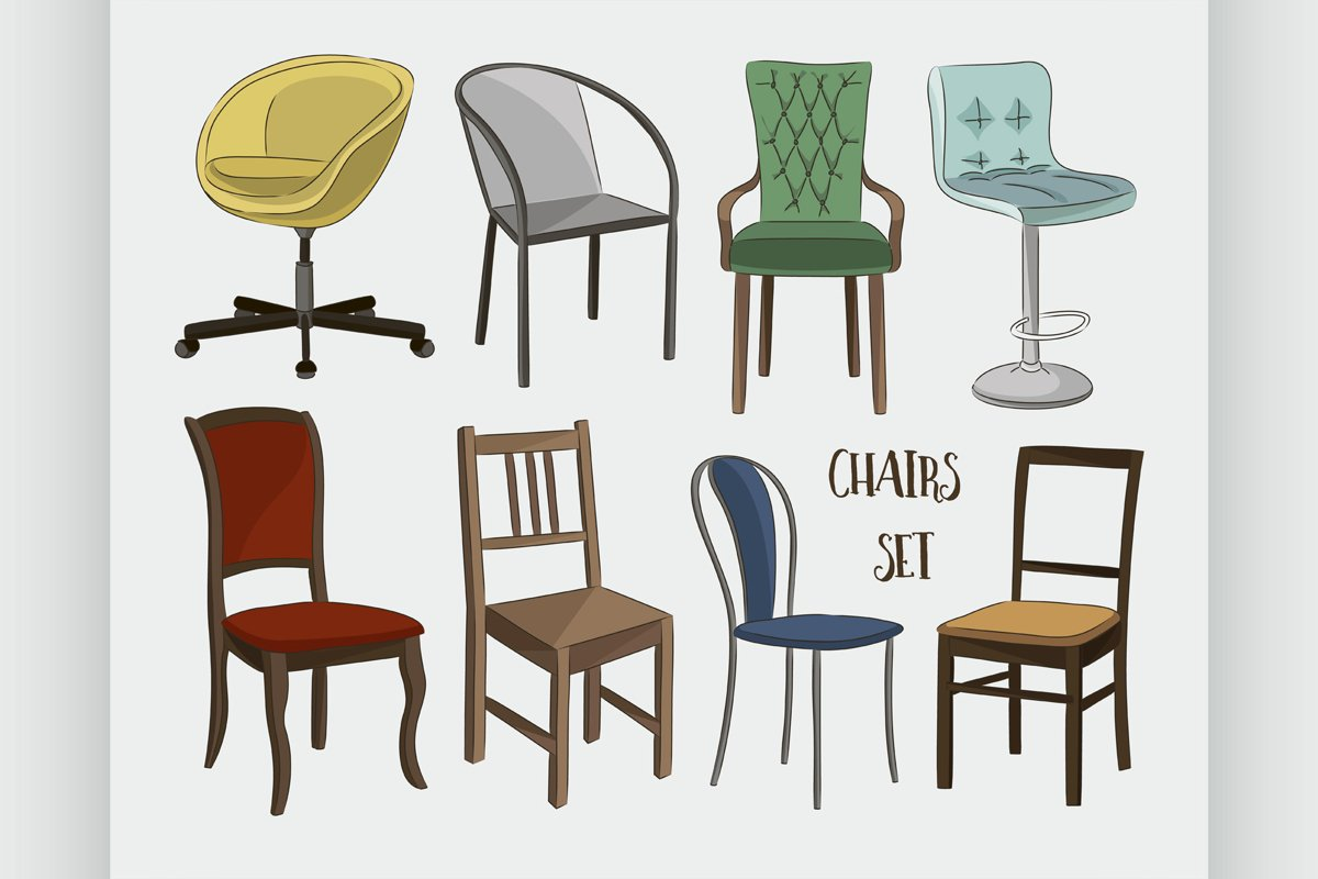 Set of chairs example image 1