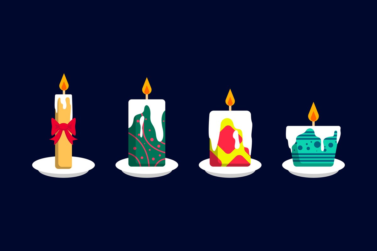 Christmas Candle Set example image 1