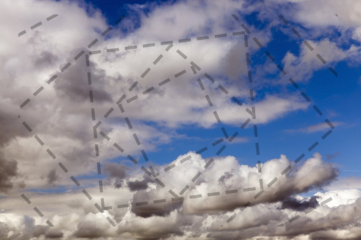 Cloudy sky cumulus clouds. example image 1