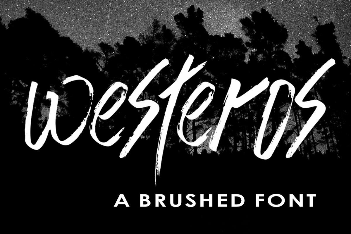 Westeros Brushed example image 1