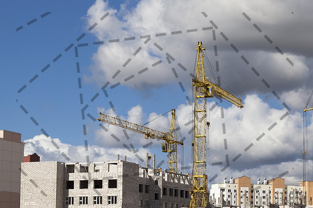Construction industry crane example image 1