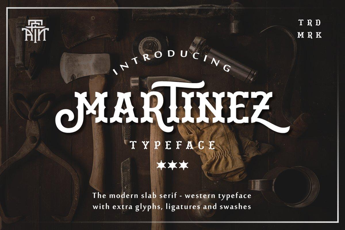 Martinez Typeface example image 1