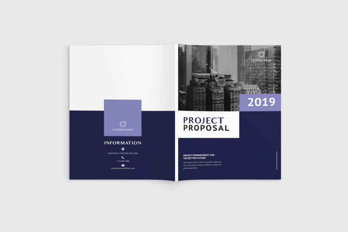 Exposina - A4 Business Brochure Template example image 1