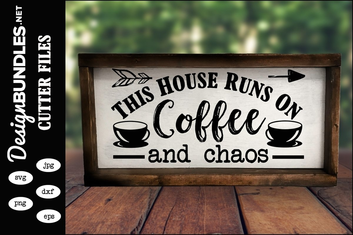 Coffee and Chaos SVG example image 1