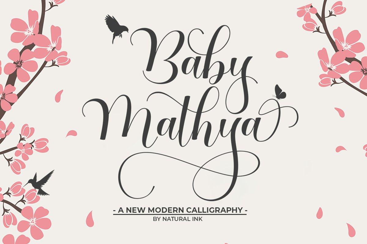 Baby Mathya example image 1