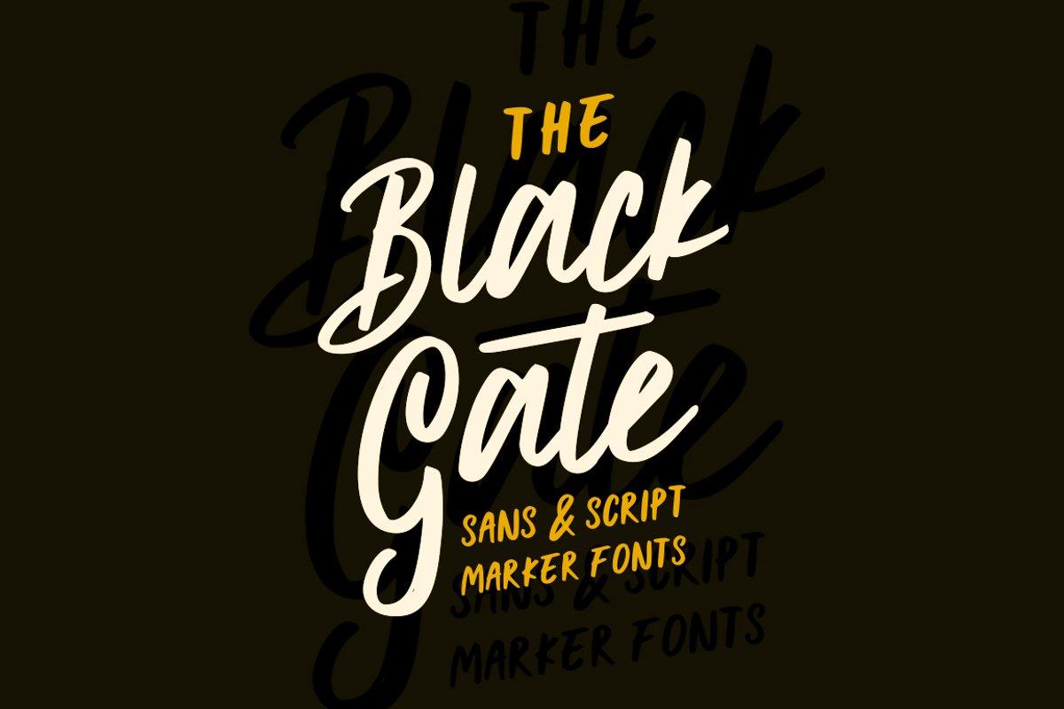Black Gate example image 1