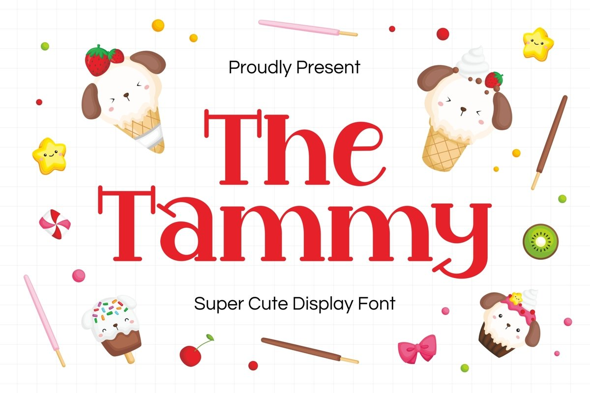 Tammy Display Font example image 1