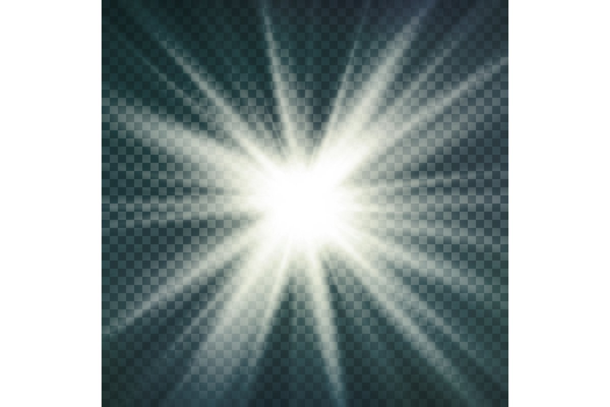 Abstract Image Of Lighting Flare. example image 1
