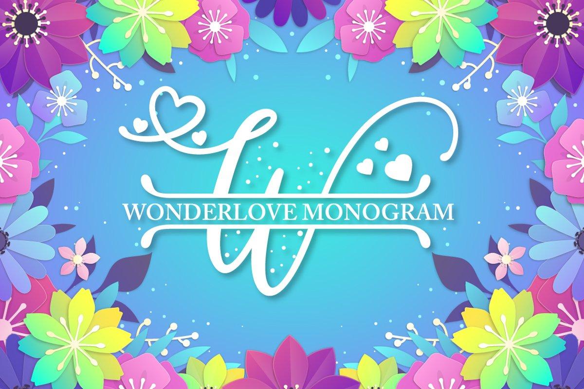 Wonderlove Monogram example image 1