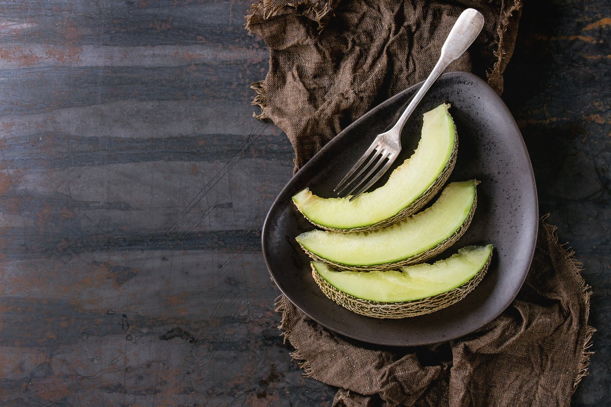 Sliced melon example image 1