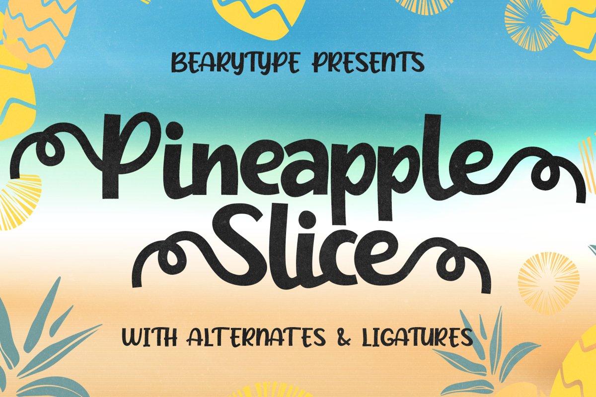 Pineapple Slice example image 1
