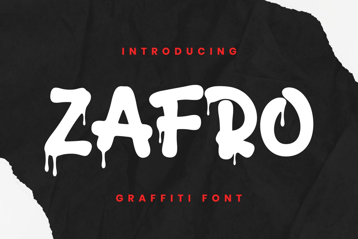 Zafro Font example image 1