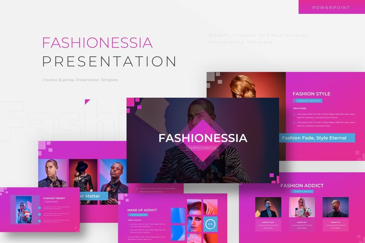 Fashionessia - Powerpoint Template example image 1