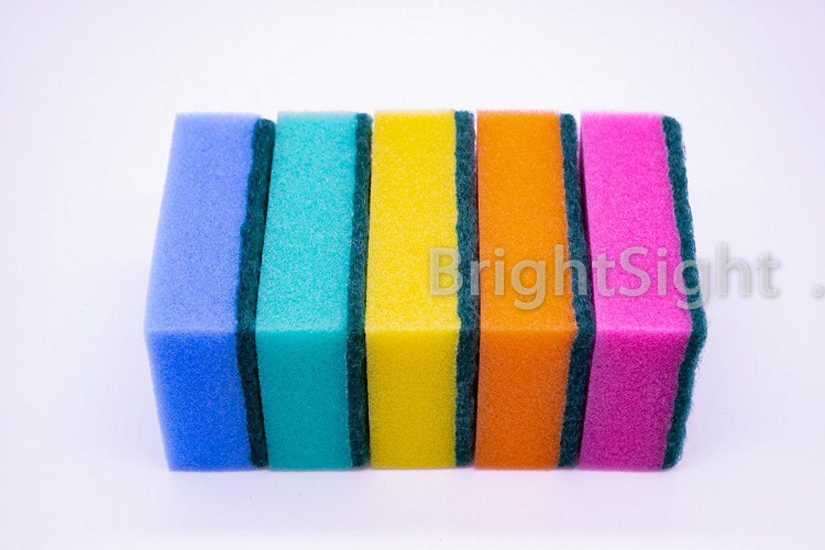 Rainbow sponges example image 1