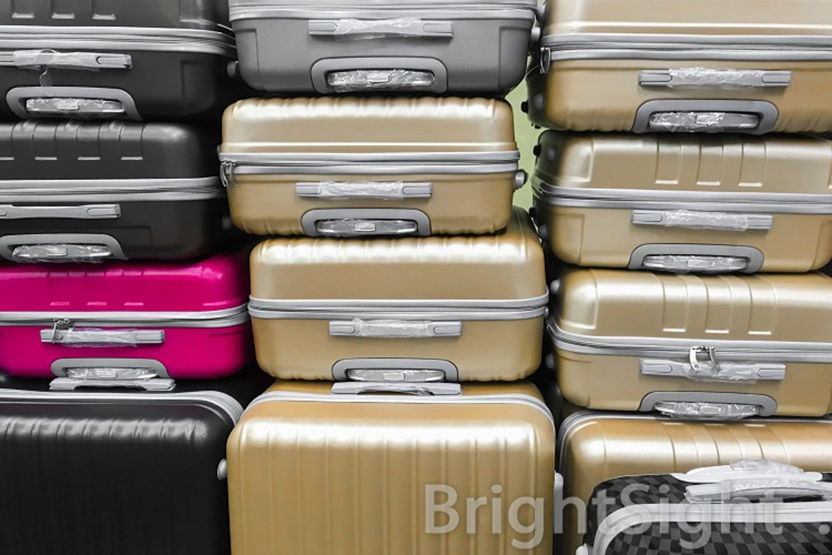 Steel suitcases example image 1
