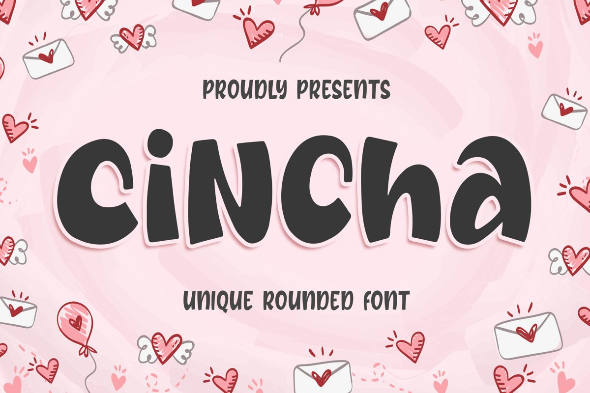 Cincha - Unique Rounded Font example image 1