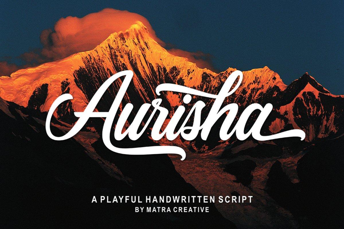Aurisha Script example image 1