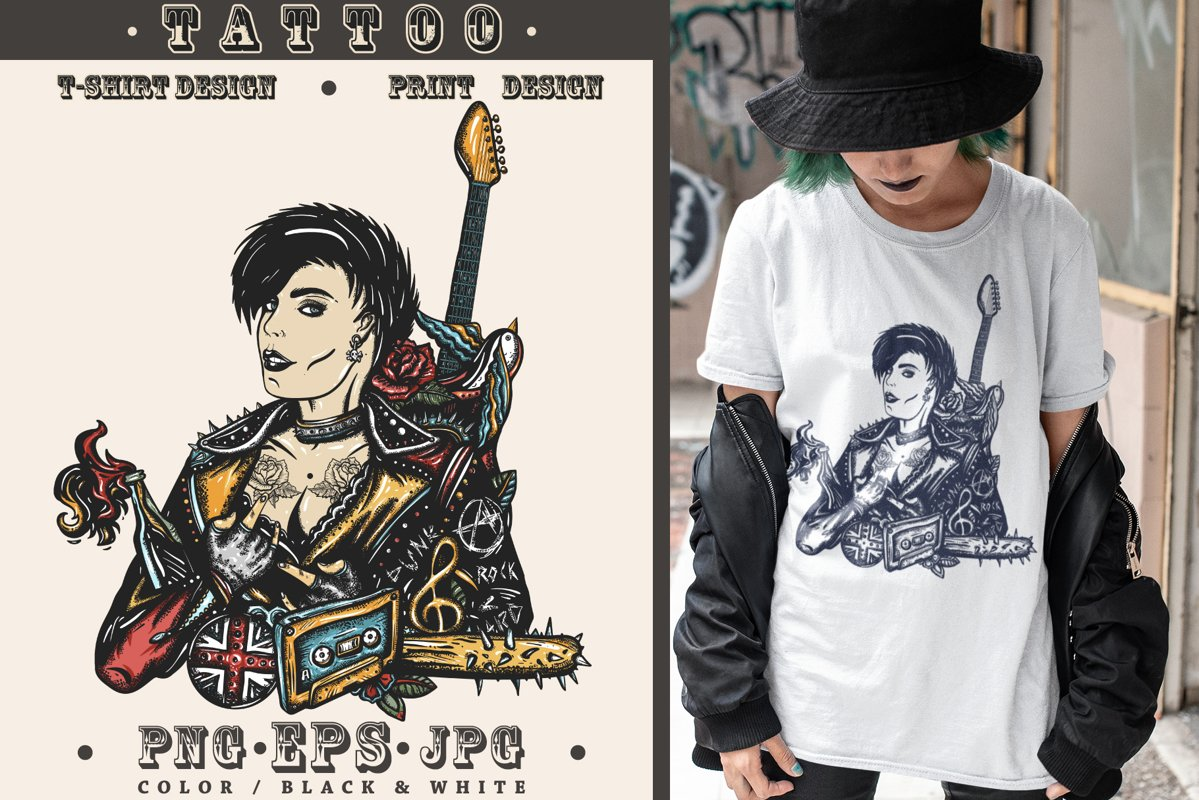 Punk girl example image 1