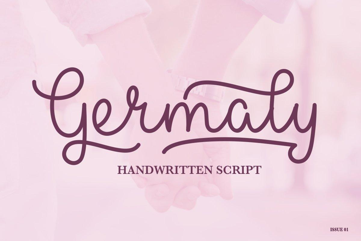 Germaly Script example image 1