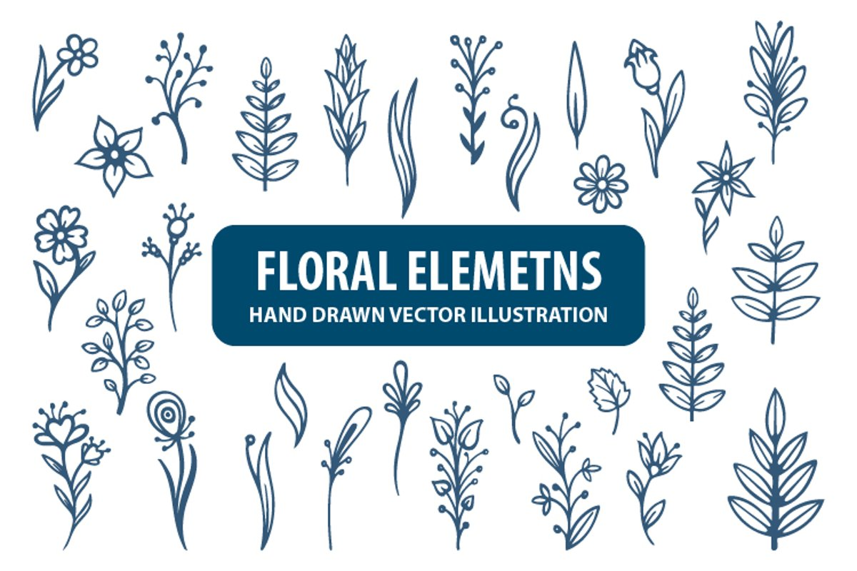 Floral illustrations. Part 2 example image 1